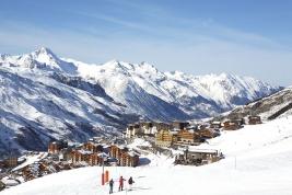 Les Menuires - Tři údolí