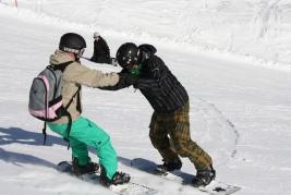 Instruktor snowboardingu + prodloužení licencí